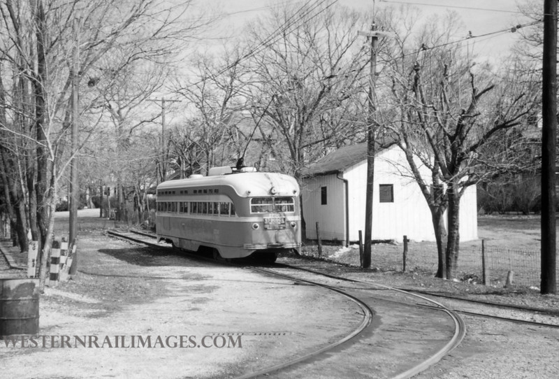PSCO 198 - Mar 29 1957 - car 1730 route 14 - St Louis MO