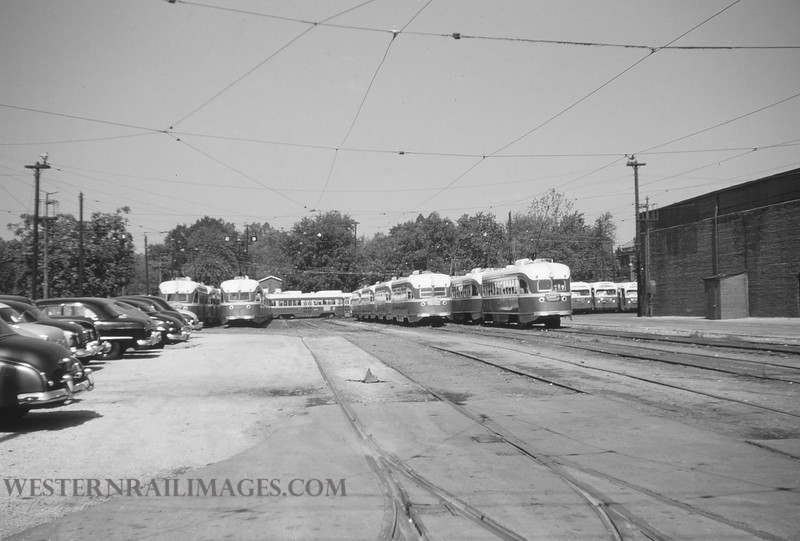 PSCO 2 - Aug 3 1954 - south Broadway division yard St Louis MO - by Jim Ozment