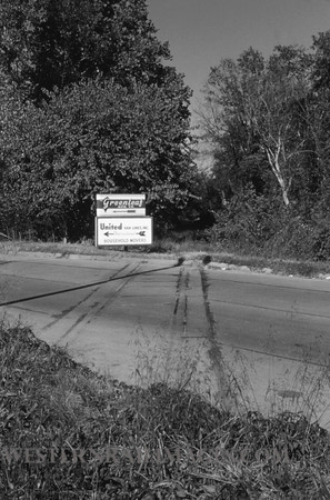 PSCO 167 - Sep 24 1956 - Brentwood line R of W crossing Laclede Sta Rd - Richmond Heights MO