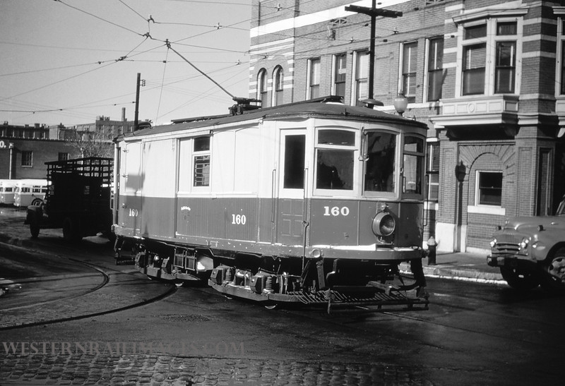 PSCO 55 - Jan 13 1955 - linecar 160 @ 39th & park