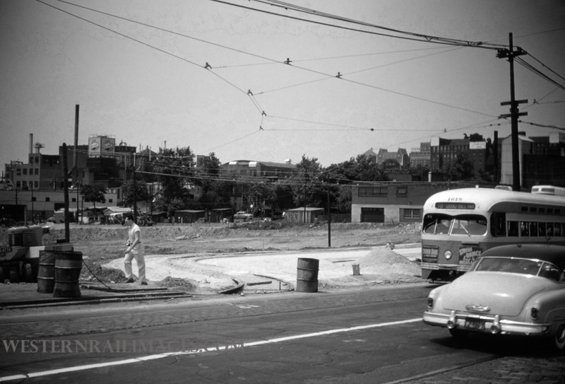 PSCO 115 - Jun 19 1955 - pcc 1618 at Grand Market Shoo Fly - St Louis MO