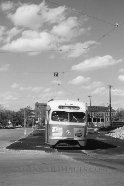 PSCO 32 - Oct 3 1954 - front of PCS PCC 1630 at Spring & Park yard - St Louis MO