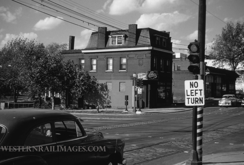 PSCO 41 - Oct 3 1954 - looking northwest at Grand & Market - St Louis MO