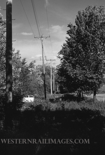 PSCO 208 - May 26 1957 - Scene on Creme Coeur Line E of Fee Fee Rd - St Louis MO