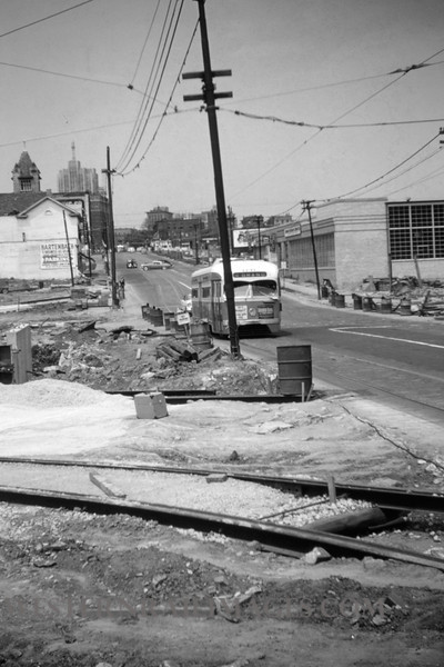 PSCO 114 - Jun 19 1955 - southside of Grand & Market shoo-fly - St Louis MO