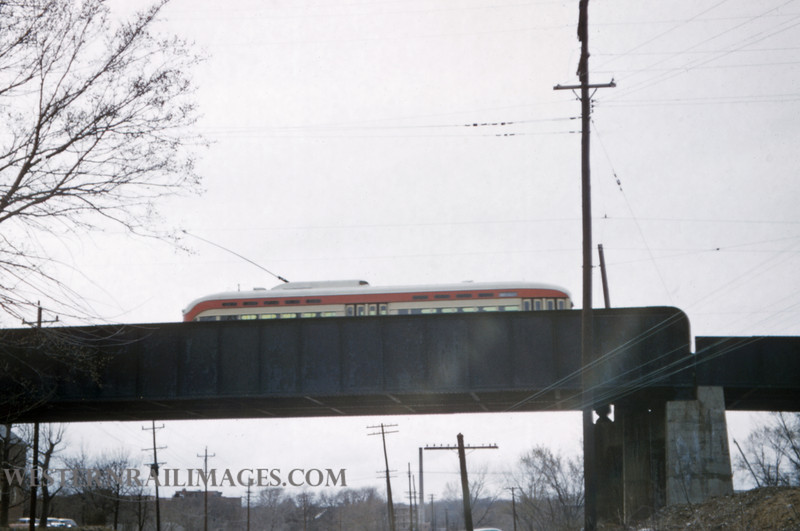PSCO 199 - Mar 29 1957 - Car 1730 Route 17 on Rock Island Crossing - St Louis MO