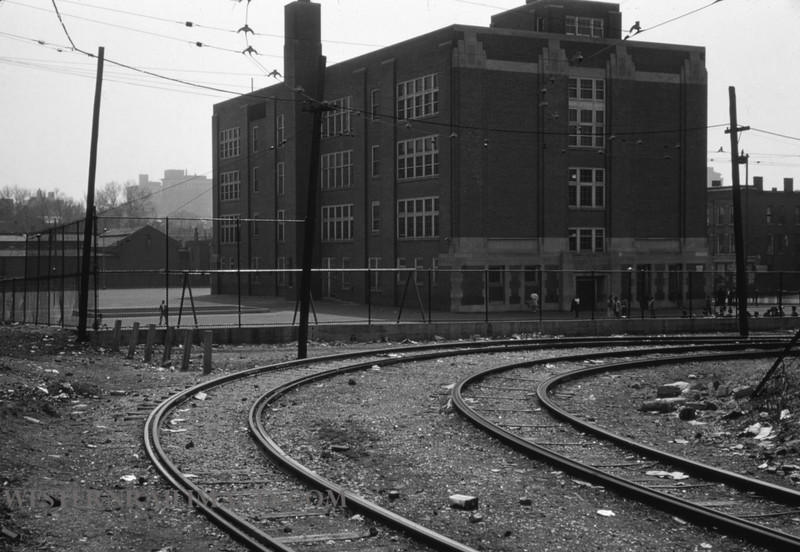 PSCO 243 - Mar 31 1959 - looking E @ site of NG shops Hodiamont Line - St Louis MO