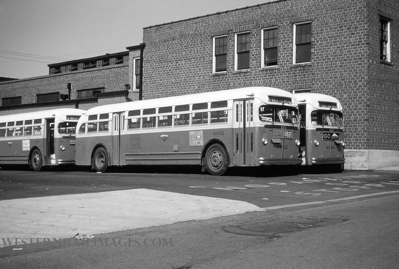 PSCO 9 - Aug 29 1954 - Mack Bus no 4012 built in 1948 at Lindenwood Division St Louis MO - by Jim Ozment
