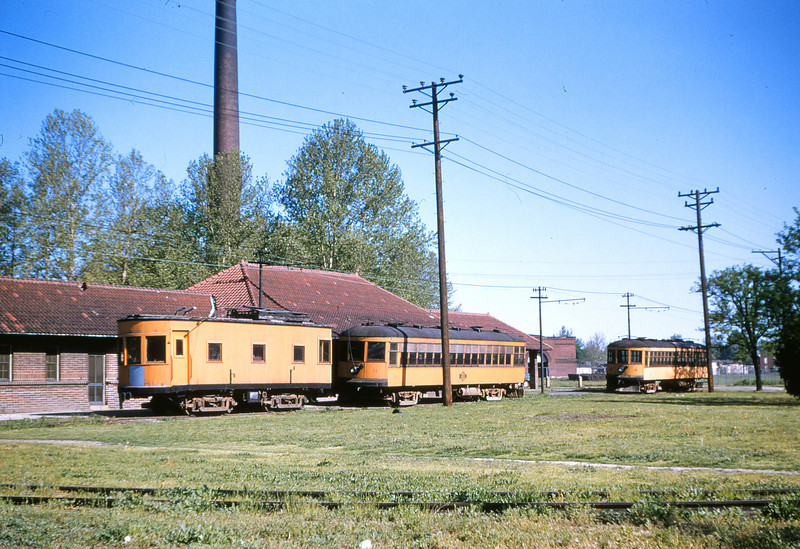 World War II Cars 13 11 & 10 at Baden MO Apr 29 1955