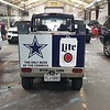E-FROG Skinzwrap with Dallas Cowboys & Miller Lite Advertising, by SkinzWraps.