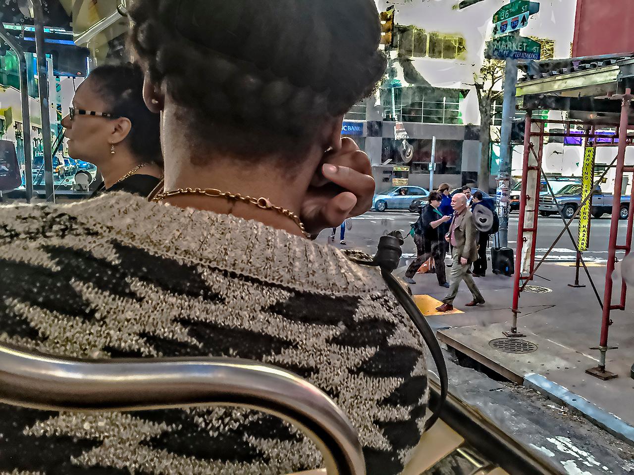 Trolley, Pedestrians, University City