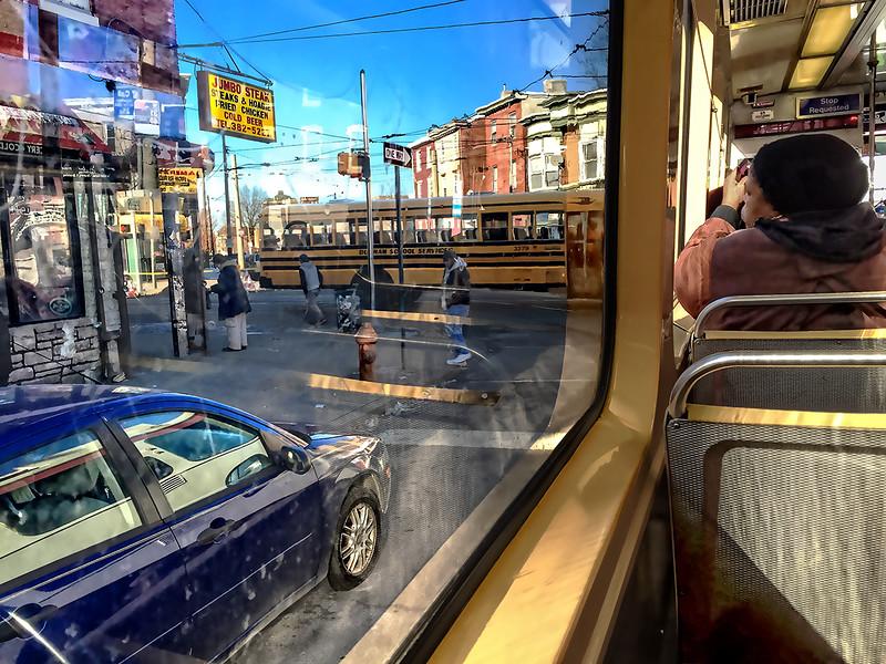 Blue Car, Yellow School Bus, Jumbo Steak, Number 10 Trolley Turns