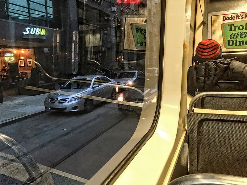 Subway, Dusk, No. 10 Trolley