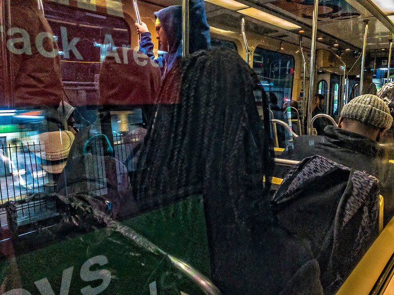Track Area, Trolley, Reflection