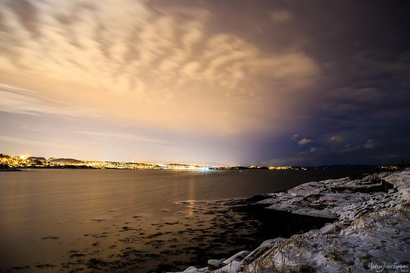 Natt på Væresholmen