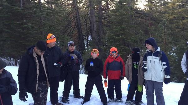 160117 Mt. Pinos Snow Camping