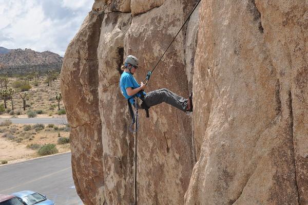 160409 Joshua Tree Climbing Trip