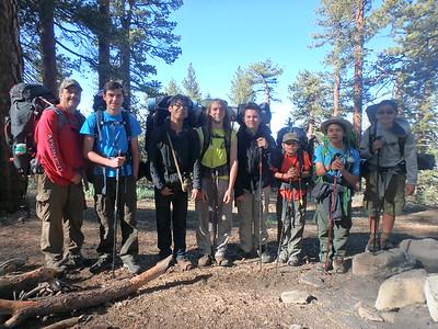 160528 Camp Three Falls Backpacking