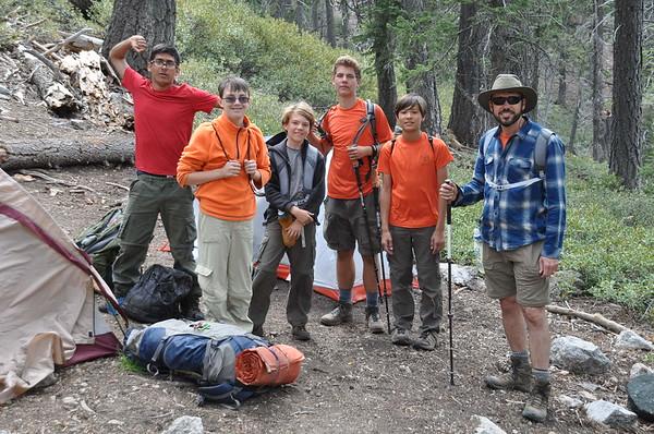 170610 Columbine Springs Backpacking