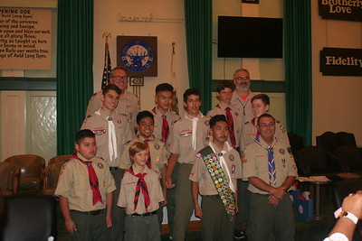 Troop 1475 Eagle Scouts, Paul Scherz and Aaron Anderson