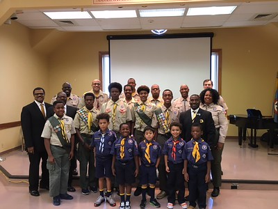 2017 Fall Court of Honor and Cub Scout Troop 1906