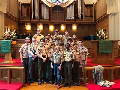 2018 02 Scout Sunday