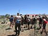 Checking in with our Ranger Lindsay Hickman upon arrival at Philmont on June 12