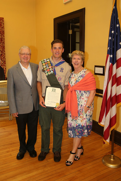 Troop 71 Eagle Scouts 6/17