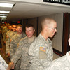 BE SURE TO CHECK THE AUGUST 26, 2007 - 1:30AM GALLERY FOR ADDITIONAL PHOTOS OF TROOPS FROM THIS FLIGHT.