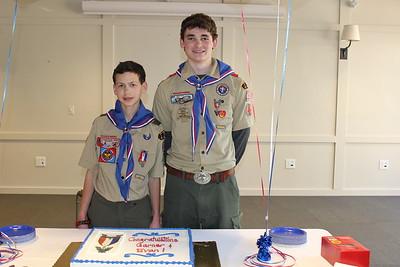 Evan Strat and Garner Bayless Eagle CoH