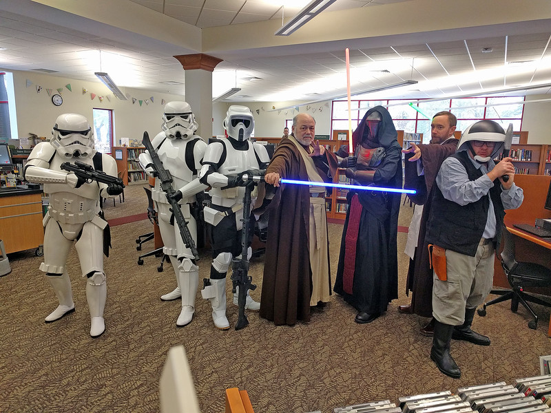 9Dec17, Grabill Library Star Wars Day, Grabill Indiana