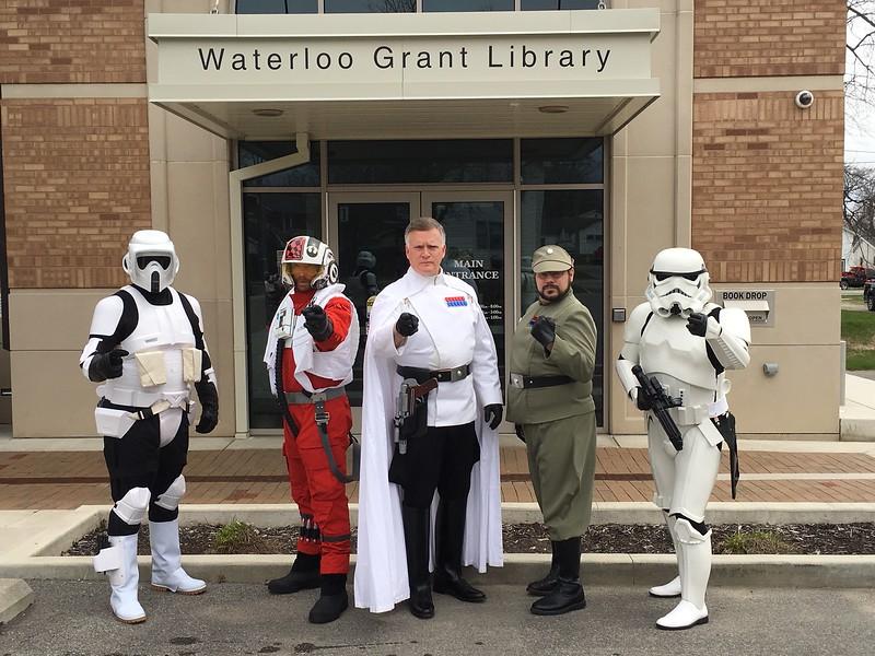 21Apr18, Waterloo Library Star Wars Day, Waterloo IN