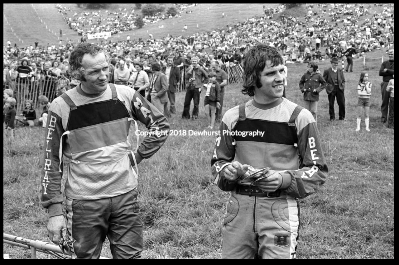 Adolf Weil, Willi Bauer Dodington Park 1973.jpg