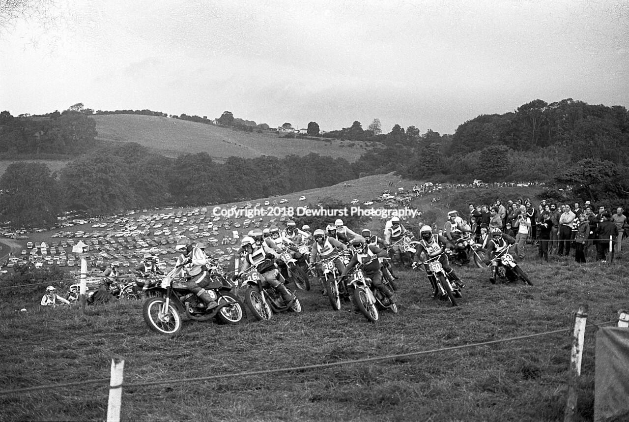 Donington Park 1973 Start