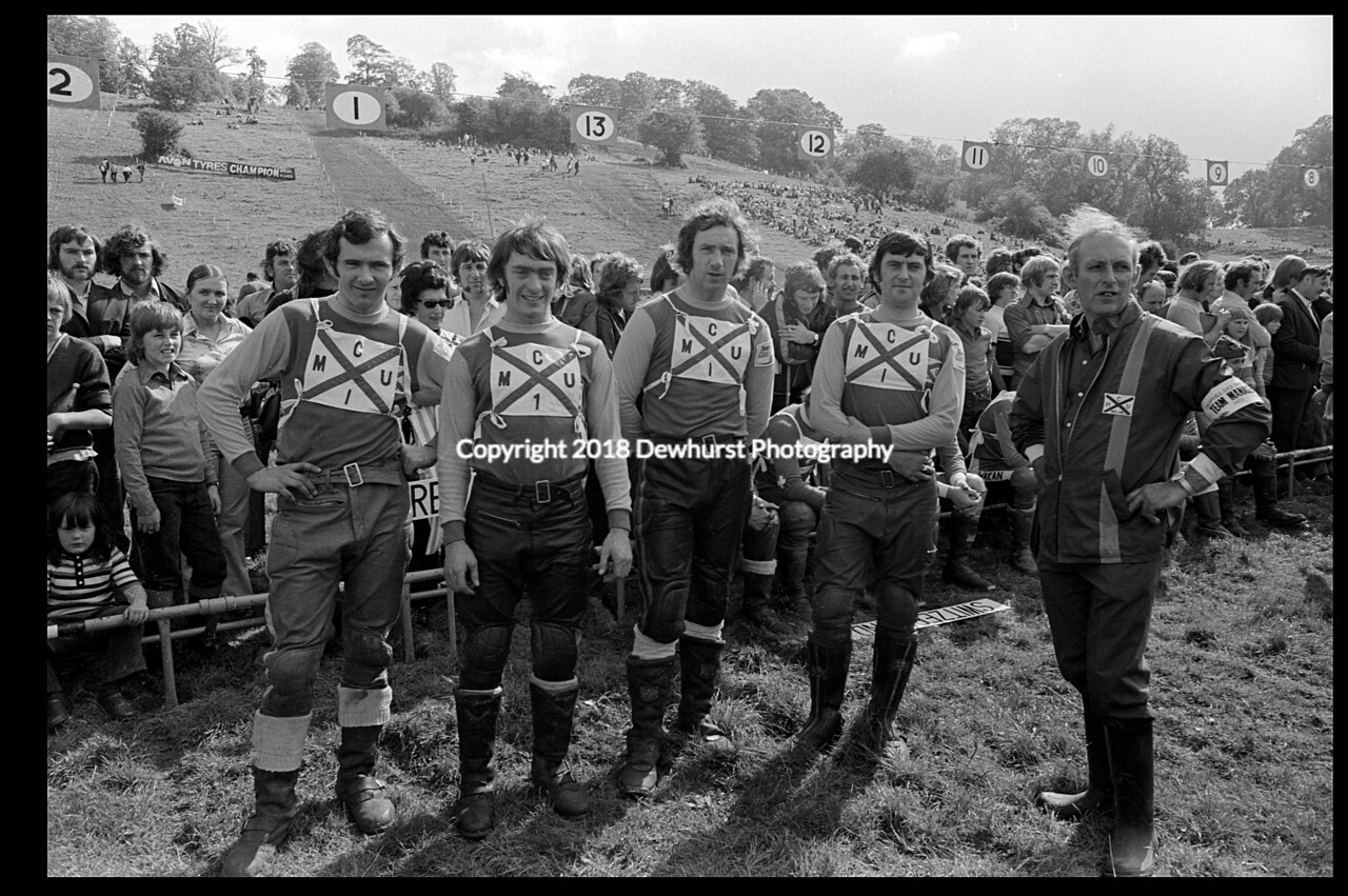 Scottish Team Donington Park 1973