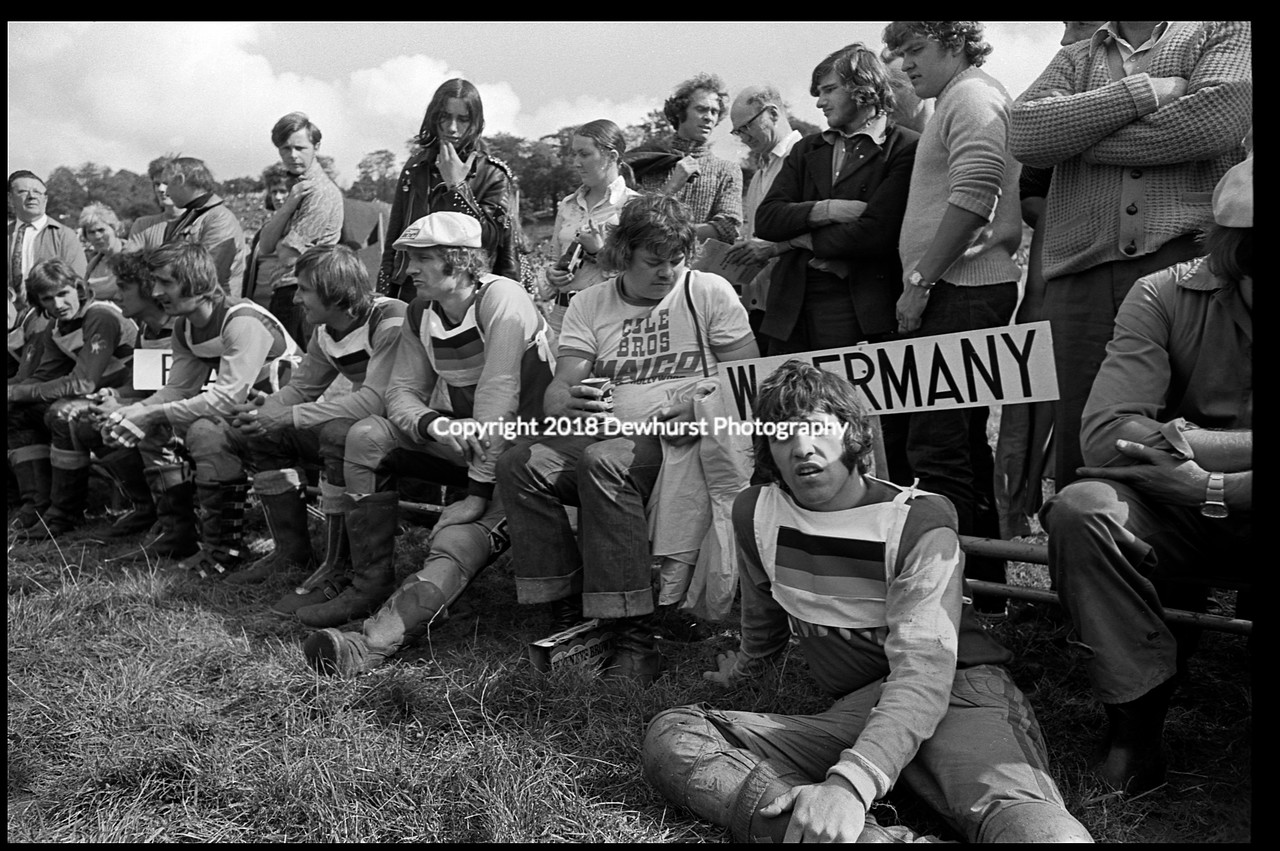 West German Team Donington Park 1973