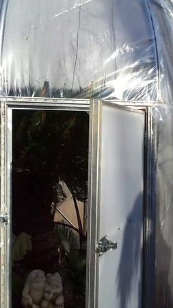 short clip inside the sago hut