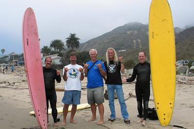 Ventura Beach surfing August 2005