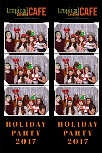 Tropical Smoothie Cafe Holiday Party 2017