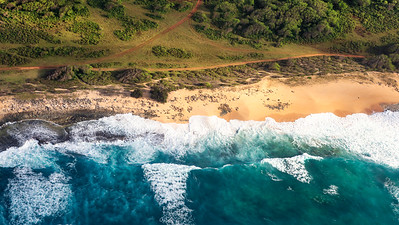 Tropical Island Aerial Views-4