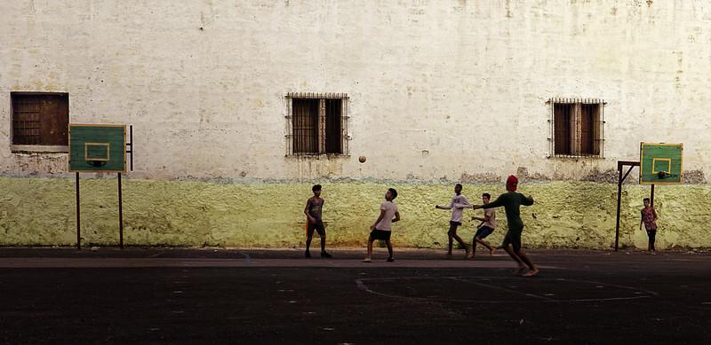 Havana Schoolyard Soccer