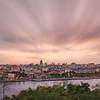 Havana Cityscape Sunset