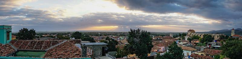 Trinidad Sunset Pano