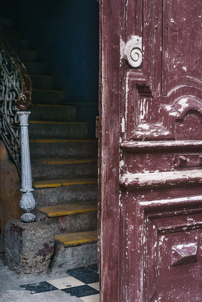 Havana Doorway & Stairs