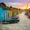 Trinidad Streets at Dusk