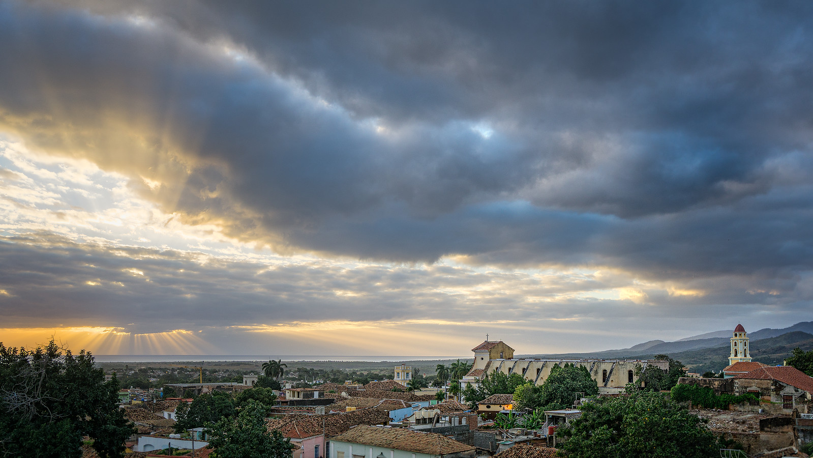 God Rays over Trinidad Cuba from Kevin Wenning at Intentionally Lost #intentionallylost