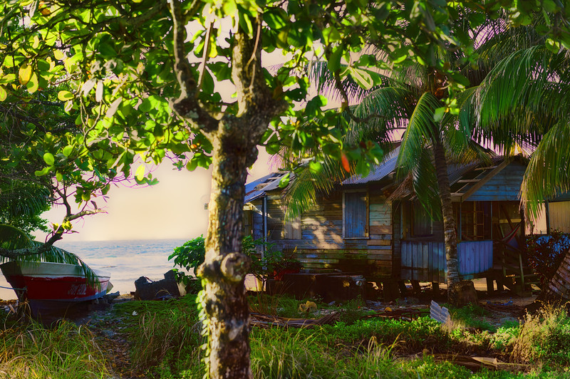 Roatan Fisherman Shack