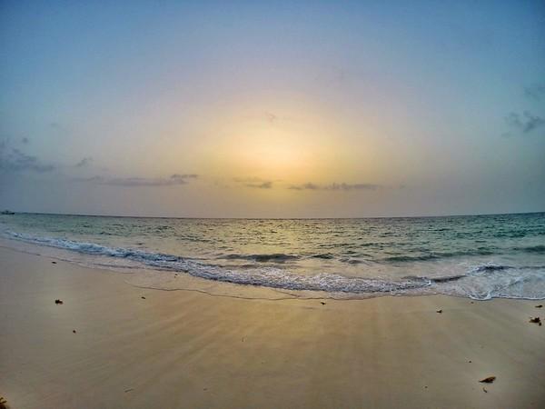 Hazy Tropical Sunrise