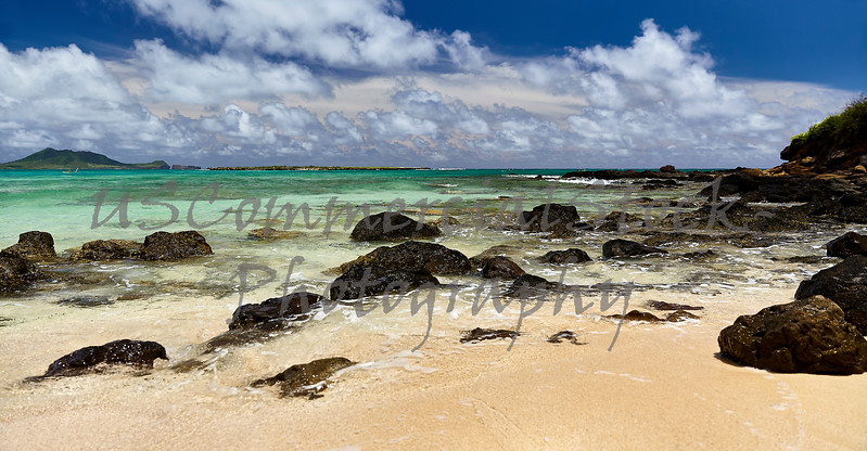 Tropical island beach paradise