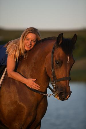 Romeo under saddle 2014
